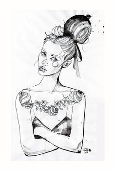 illustration by Sara Ligari. Facebook