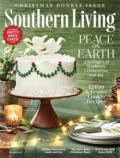 Collard Greens with Smoked Ham Hocks | Southern Living Better Homes And Gardens, Southern Living Magazine, White Cakes, Southern Recipes, Have Time, Casserole Recipes, Pecan, Cookie Recipes, Fudge Recipes