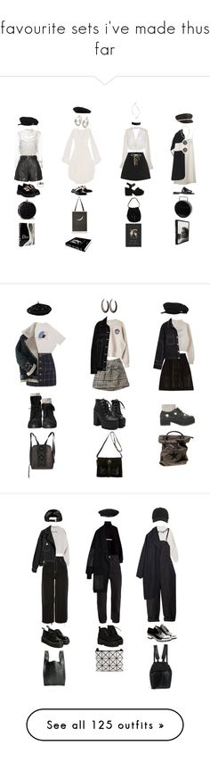 """favourite sets i've made thus far"" by jayda-xx ❤ liked on Polyvore featuring RED Valentino, Jeffrey Campbell, Steven Alan, ASOS, Lonely, Gucci, Eugenia Kim, Pokemaoke, Alexander McQueen and Mes Demoiselles..."