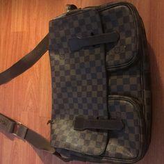 f1d58f639a1 Louis Vuitton Damier Broadway Messenger Bag. Louis Vuitton Damier Broadway  Messenger Bag. Shoulder strap drop  22