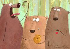 Various tales by Susan Batori, via Behance