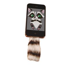 Faux Racoon Tail, 12€, now featured on Fab.