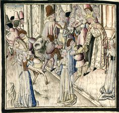 Cartonnier, Grenoble, 15th Century, Armour, Miniatures, Painting, Anonymous, Tapestry, Kleding
