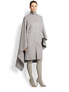 Ralph Lauren Collection Ellison Cashmere-Blend Poncho Coat