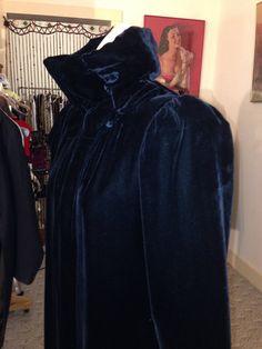 Vintage Highly Detailed Goth, Victorian/Edwardian Black Opera Coat AMAZING by OldohioVintage on Etsy