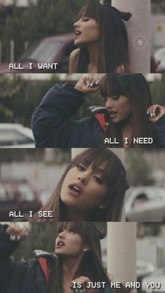 Ariana Grande discovered by H◬K on We Heart It - image discovered by H◬K. Discover (and save!) Your own images and videos on We Heart It - Ariana Grande Fotos, Ariana Grande Texte, Ariana Grande Wallpapers, Ariana Grande Lyrics, Ariana Grande Pictures, Ariana Grande Nails, Videos, Fitness Motivation, Queens