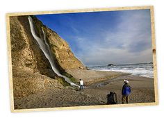 Alamere Falls in Point Reyes
