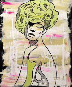 Painting canvas . by dario de siena  Follow me on  https://www.facebook.com/dariorabbit https://twitter.com/Dario_Desiena http://instagram.com/dario_desiena