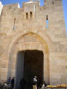 Jerusalem Israel's Old City Jaffa Gate