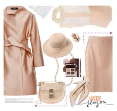 """""""Nude Lux"""" by ansev ❤ liked on Polyvore featuring Paule Ka, MSGM, Maison Margiela, Accessorize, rag & bone, Dolce Vita, Chloé, Mimí, women's clothing and women's fashion"""