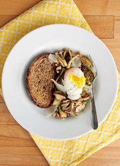 An Umami-Rich Mushroom Dish to Eat Any Hour of the Day