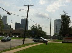 walking around Tulsa