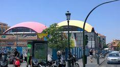 Mercado de la Cebada en La Latina (Madrid)