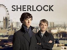 Sherlock - Season 1. Only watched first episode but I am hooked!!