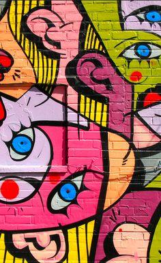 Street Art Picasso - Toronto, Ontario - Daily Photo #abstractart