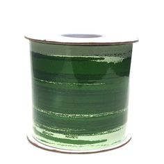 """Florists like to cover their """"mechanics"""" (green floral foam) in clear containers. This can be done in a variety of ways, including marbles, fruit slices, and wr"""