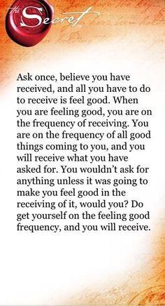 Ask Believe Receive!