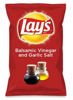 Wouldn't Balsamic Vinegar and Garlic Salt be yummy as a chip? Lay's Do Us A Flavor is back, and the search is on for the yummiest flavor idea. Create a flavor, choose a chip and you could win $1 million! https://www.dousaflavor.com See Rules.