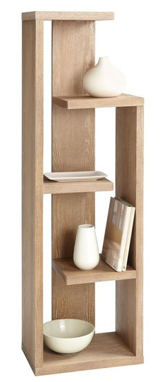 Geneva Bookcase | Distinct multi-level display case.