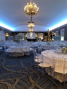 Chiavari Chairs, Emerald City, Chandelier, Ceiling Lights, Table Decorations, Lighting, Design, Home Decor, Candelabra