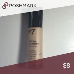 Boots Protect & Perfect Foundation Boots Protect & Perfect Foundation in Soft Vanilla P.S it's a great dupe for the Urban Decay Foundation Urban Decay Makeup Foundation