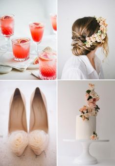 Pinkog Forty Delicate Peach And Cream Wedding Ceremony Concepts   Wedding Ideas