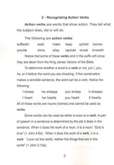 Diagramming the Scriptures Sentence Writing, Writing A Book, Complex Sentences, Teaching English Grammar, Action Verbs, Subject And Verb, Christian School, Parts Of Speech, Cogs