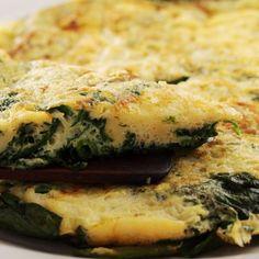 La #ricetta di oggi: la frittata di spinaci
