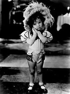 Another of my favorite Shirley Temple moments. When she was on Baby Burlesk. Way before she became a big child star. She was about 2 or 3 years old. Sooo adorable.
