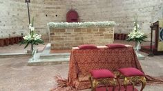 Decorations of the altar