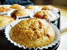 Cake Of The Week: Stem Ginger & Banana Muffins I Am Baker, Cinnamon Rolls, How To Make Cake, Bread Recipes, Baked Goods, Cravings, Nom Nom, Muffins, Bananas