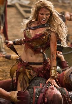 Saxa - Ellen Hollman - Spartacus, War of the Damned