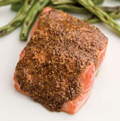 Adding a rub is an easy way to impart additional flavor to salmon. The best part is that it takes NO additional time at all. We love that.