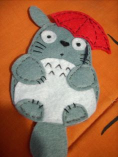 My Neighbor Totoro 47 brooch by elrincondereiko on Etsy, €15.00