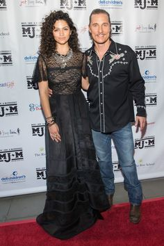 Camila Alves Photos Photos - Camila Alves (L) and Matthew McConaughey arrive for the 5th annual Mack, Jack & McConaughey Gala at ACL Live on April 20, 2017 in Austin, Texas..The non-profit group raises money for youth organizations. / AFP PHOTO / SUZANNE CORDEIRO - The 5th annual Mack, Jack & McConaughey Gala at ACL Live in Austin