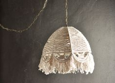 Vintage Swag Lamp Macrame Hanging Light by drowsySwords on Etsy, $120.00