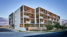 Helm Apartments, by Cameron Chisholm Nicol.  Photography: Greg Hocking.