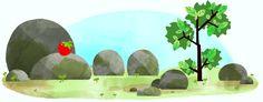 Solsticio de Verano (Hemisferio Norte) Doodleando, Los Logos de Google