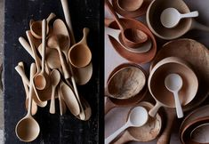 A peek into Josh Vogel's book The Artful Wooden Spoon  from  Chronicle Books  out this November! Styling by Kendra Smo...
