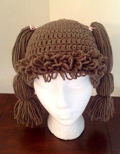 Crochet Cabbage Patch Kids hat