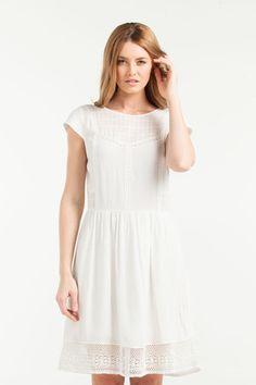 Keren Lace Dress by Jane Sews White Dress Summer, Summer Dresses, Ethical Fashion, White Lace, Vintage Fashion, Vintage Style, Lace Dress, Autumn Fashion, Short Sleeve Dresses