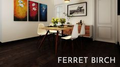Creek Nature Ferret, Designed, Engineered, and Manufactured to Opus Floors Canada's specifications. 1-800-653-6177 www.opusfloors.ca Natural Wood Flooring, Personal And Professional Development, Engineered Hardwood, Birch, Floors, Engineering, Chair, Ferret, Furniture