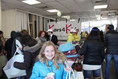 at the Staten Island Charity Coat Giveaway Staten Island, Cool Kids, Charity, Giveaway, Coat, Fun, Sewing Coat, Peacoats, Coats