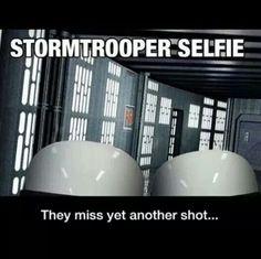 Stormtroopers selfie
