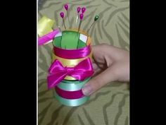 Handmade Craft Ideas - Amazing Pin Cushions - Tutorial .