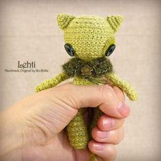 Lehti - Original Handmade Little Cat/Toy/Collectable/Gift/Charm