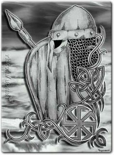 Never walk  away from home  ahead of your axe and sword. You can't feel a battle  in your bones  or foresee a fight.   - The Havamal