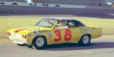 Jerry Cook's 1967 Chevrolet Chevelle, competing in the NASCAR Sportsman Division at Daytona, FL.