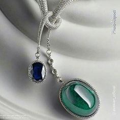 "By @avakian_official ""An exquisite Colombian dream... #Avakian #120ct #colombianemerald #bluesapphire #diamond #necklace"" via @PhotoRepost_app"
