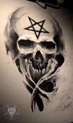 pentagram by AndreySkull.deviantart.com on @DeviantArt